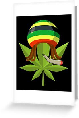 Hemp leaf smoking a joint with a rastafarian hat and dreadlocks hemp leaf smoking a joint with a rastafarian hat and dreadlocks m4hsunfo