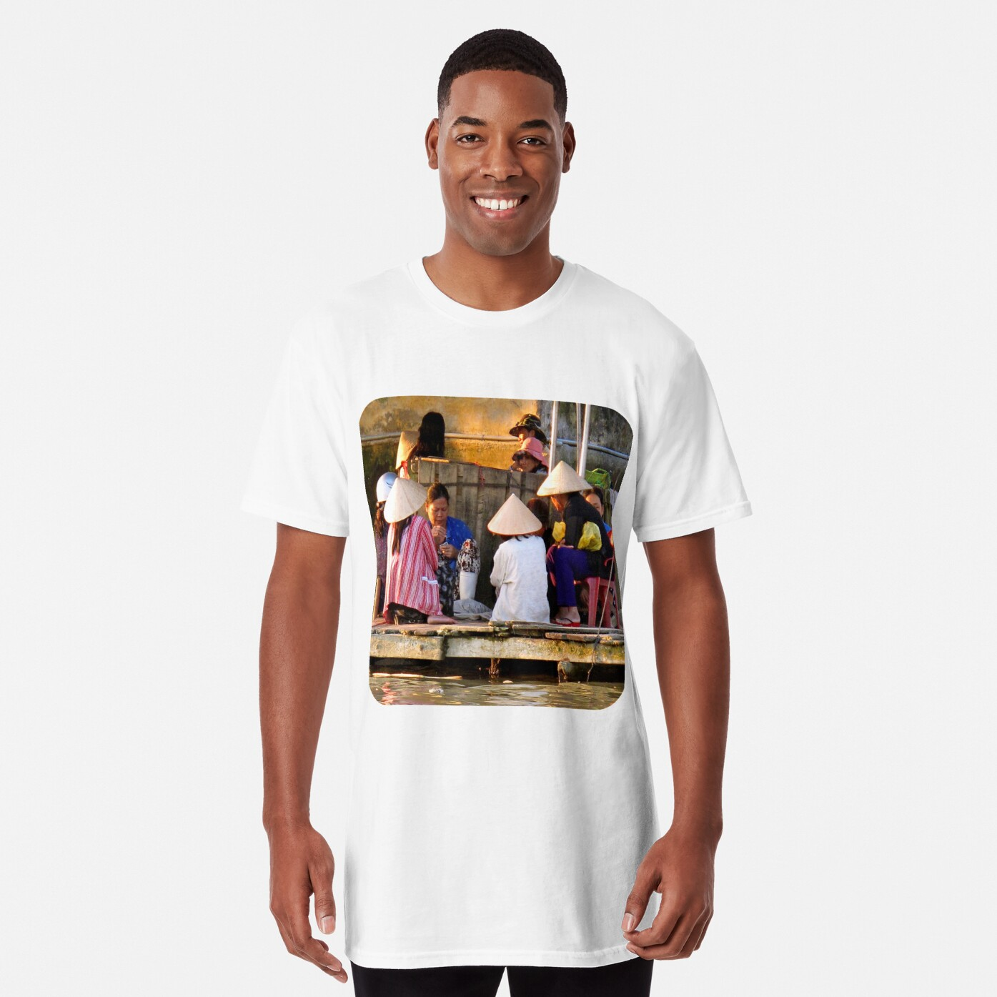 The Card Game  Long T-Shirt Front