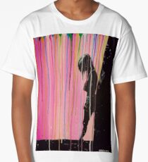 Psychedelic Lonely Girl Long T-Shirt