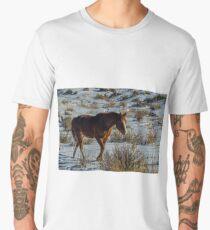 Winter Horse Men's Premium T-Shirt