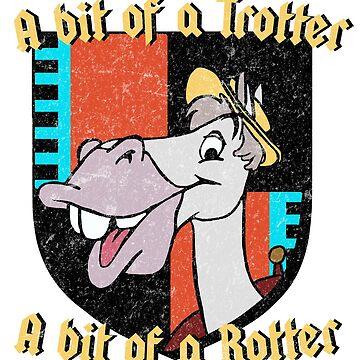 Ichabod y el Sr. Toad - El paseo salvaje del Sr. Toad - Cyril - Estilo angustiado de ohlovelypop