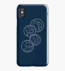 """Wibbly Wobbly Timey Wimey"" in circular Gallifreyan iPhone Case/Skin"