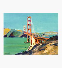 Golden Gate Bridge San Francisco California  Photographic Print