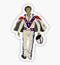 Evel Knievel Sticker
