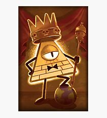 King Bill Cipher Photographic Print