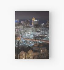 Cincinnati Skyline from Mt. Adams - Color Hardcover Journal