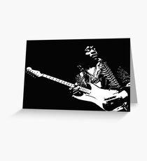 Jimi Greeting Card