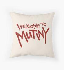 Welcome To Mutiny Floor Pillow