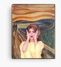 Rupaul's Drag Race - Alyssa Edwards - The Scream Metal Print