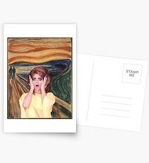 Postales Carrera de arrastre de Rupaul - Alyssa Edwards - El grito