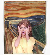 Rupaul's Drag Race - Alyssa Edwards - The Scream Poster