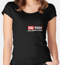 HAL 9000 Fitted Scoop T-Shirt