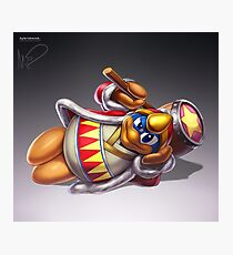 King Dedede Photographic Print