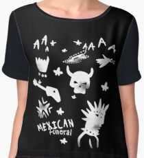 Mexican Funeral Chiffon Top