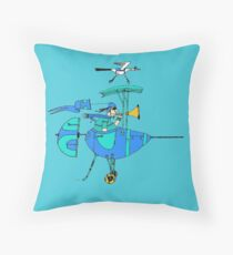 Flight School for Pono Throw Pillow