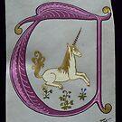 'U' is for Unicorn by louisegreen