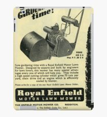 Royal Enfield Lawn Mower. 1950s Quality!  iPad Case/Skin