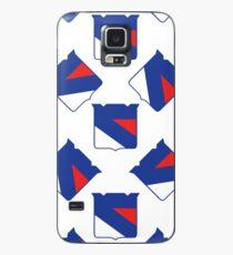 New York Rangers Muster Hülle & Klebefolie für Samsung Galaxy