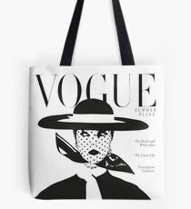 Vintage vogue cover... Tote Bag