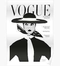 Vintage vogue cover... Poster