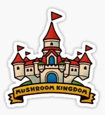 Super Mario Odyssey - Mushroom Kingdom Sticker