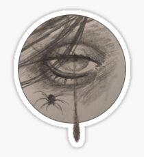 Tear Drop Sketch Sticker