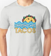 Swimming And Tacos Unisex T-Shirt