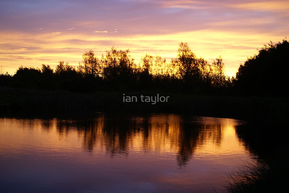 red on the water by ian taylor
