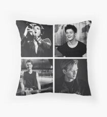 The Vamps Throw Pillow
