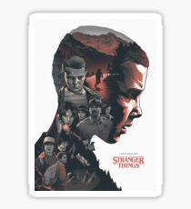 Stranger Things! Sticker