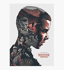 Stranger Things! Photographic Print