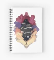 Sober Up AJR Spiral Notebook