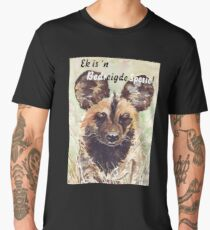 Ek is 'n Bedreigde Spesie! Men's Premium T-Shirt