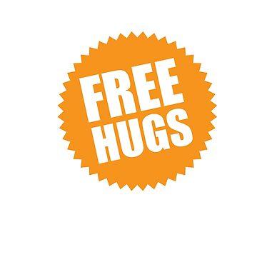 Free Hugs Sign by Cloud9hopper