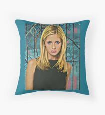 She Saved The World... Throw Pillow