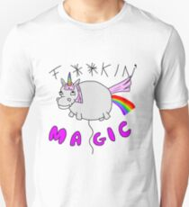 Sparkles the Inappropriate Unicorn Unisex T-Shirt