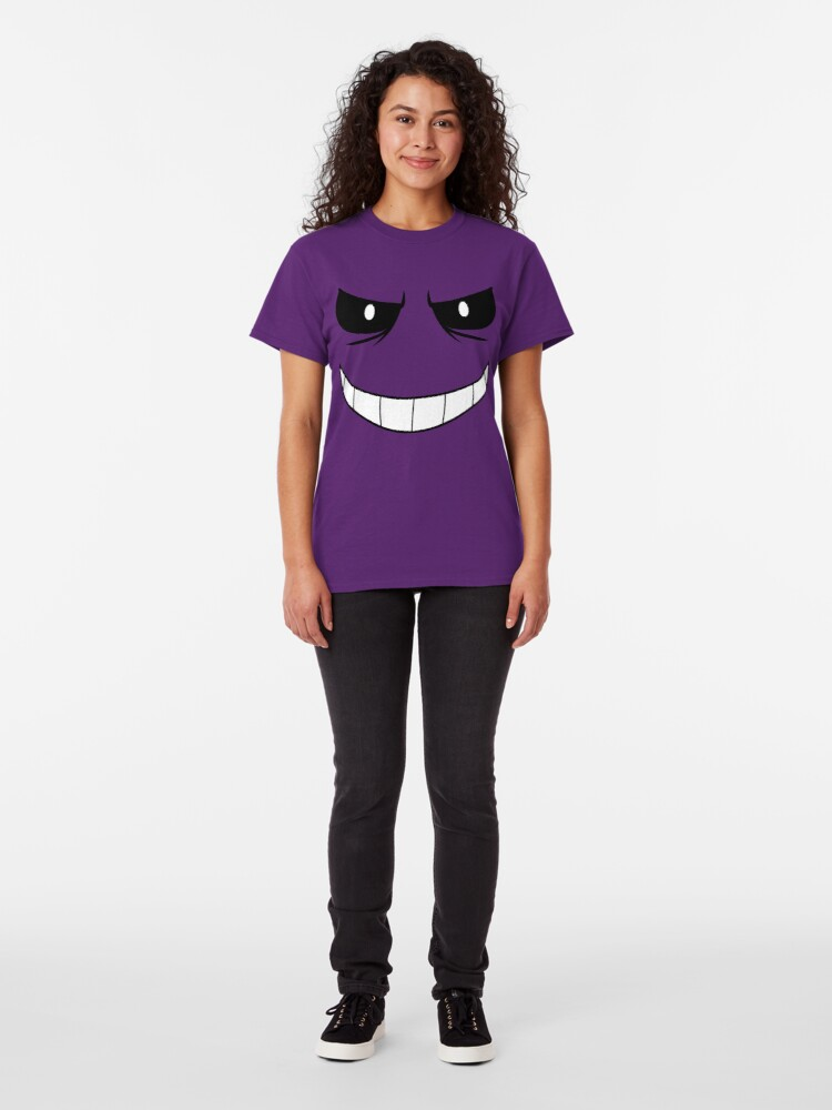 Alternate view of Purple Guy's Face Classic T-Shirt