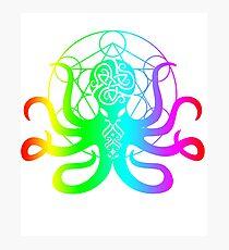 EDM Octopus Electronic Dance Music Kraken Rave Item Photographic Print