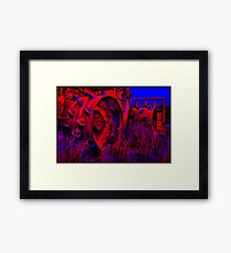 You'd better not mess with Major Tom... Framed Print