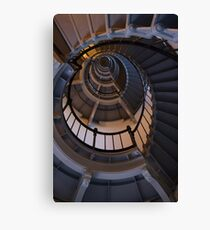 Up The Lighthouse Stairs Canvas Print