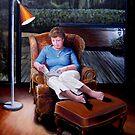 Diana Reading by Ken Tregoning