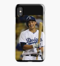 corey seager smiling iPhone Case/Skin