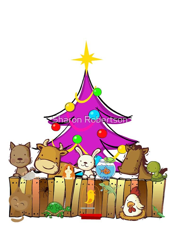 All Pets Christmas Tree by Sharon Robertson
