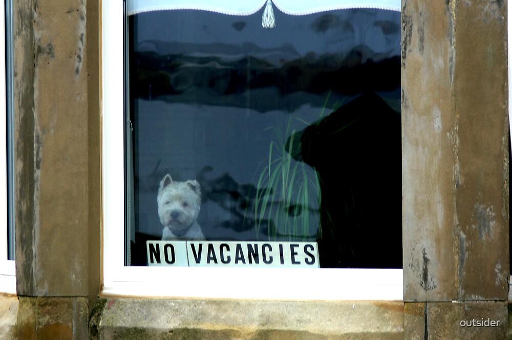 No Vacancies - Saltcoats, Scotland by outsider