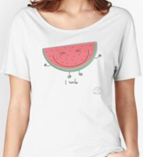 I smile Women's Relaxed Fit T-Shirt