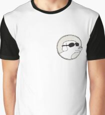Modern Baseball Dog Graphic T-Shirt
