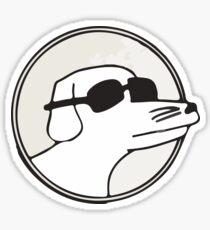 Modern Baseball Dog Sticker