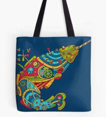 Narwhal, cool art from the AlphaPod Collection Tote Bag