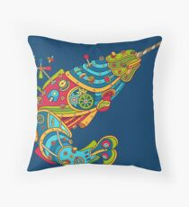 Narwhal, cool art from the AlphaPod Collection Throw Pillow
