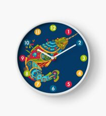 Narwhal, cool art from the AlphaPod Collection Clock